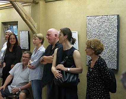 eröffnung der ausstellung in der kulturwirtschaft am 8. juni 2014