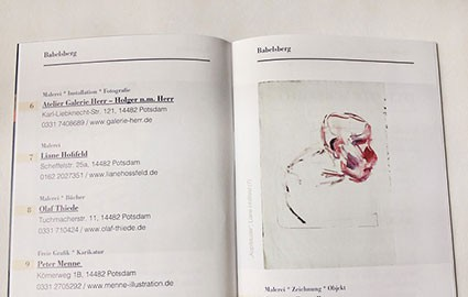 Offenes Atelier am Sonntag, den 26.10., von 11 bis 18 Uhr. In der Scheffelstraße 25a in Babelsberg. Sie/ihr sind/seid herzlich eingeladen, in 2020 entstandene Arbeiten anzuschaun. Malerei, Zeichnung u kleine plastische u reliefartige Arbeiten ...
